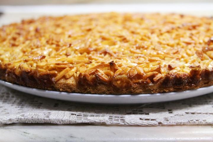 tarte receita almond