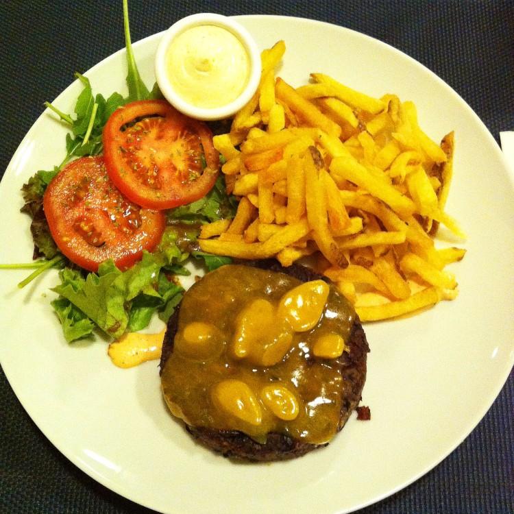 Feijão preto burger porto